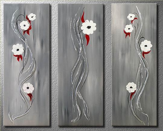 Blommor Eleganta vita blommor