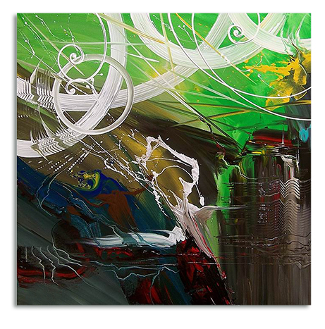 Abstract Green Giant