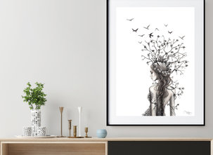 Katarina Vintrafors - POSTER - Lady Branches