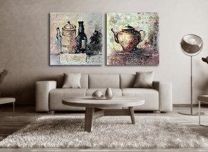 Abstract painting Wodonga
