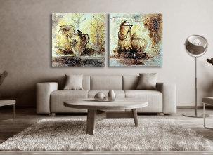 Abstract painting Ballina