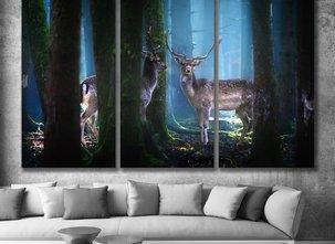 Ljuddämpande Tavla - Forest