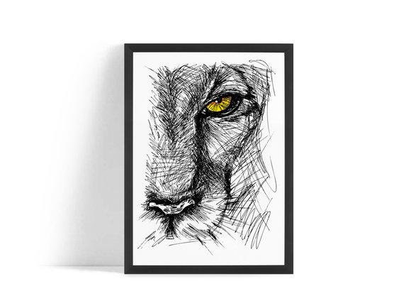 Lions eye