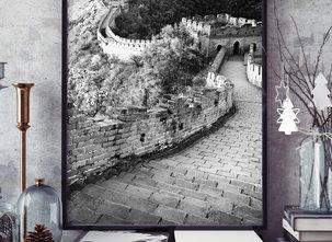 Poster  - Tavla - Kinesiska Muren