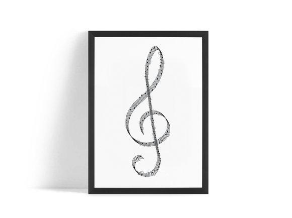 Musik Not Poster