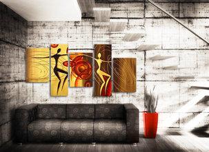 Abstrakt Oljemålning Inglewood