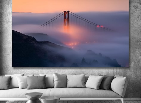 Photo Art - Golden Gate