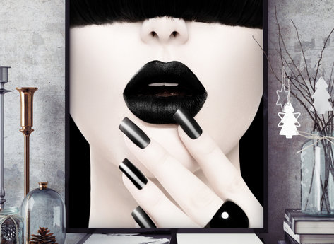 Prints - Black Widow