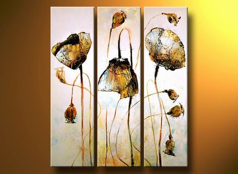 Blommor Guldvallmo