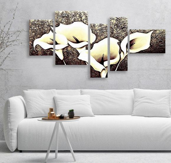 Tavlor på Blommor - Kallor äng