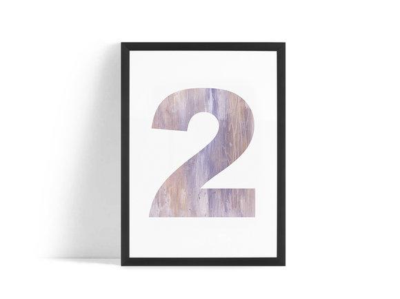 Två Poster