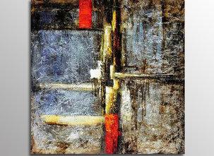 Abstrakt Oljemålning Legnano