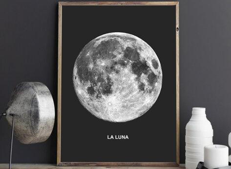 Prints - La Luna