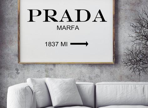 Prints - Marfa