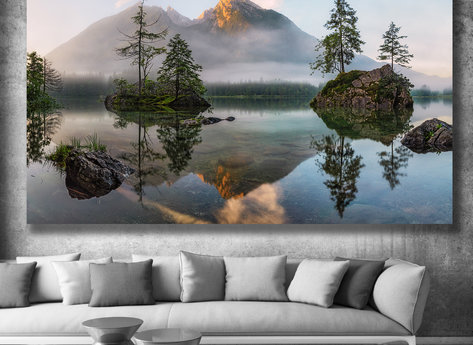 Fotokonst - Tavla - Spegel