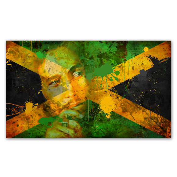 Bob Marley Canvasprint