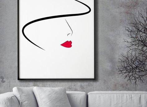 Prints - Lady