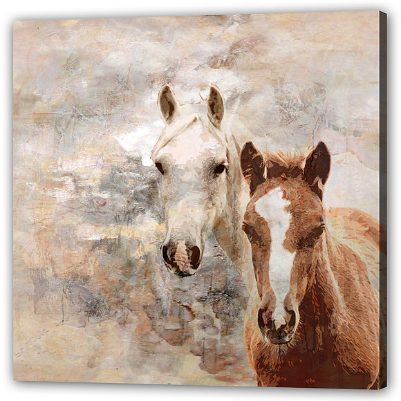 Tavla - Hästar