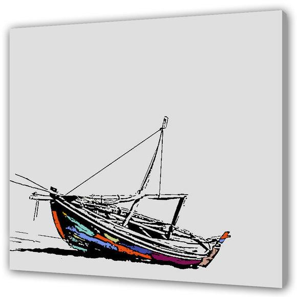 Skepp Tavla - Lone Dinghy