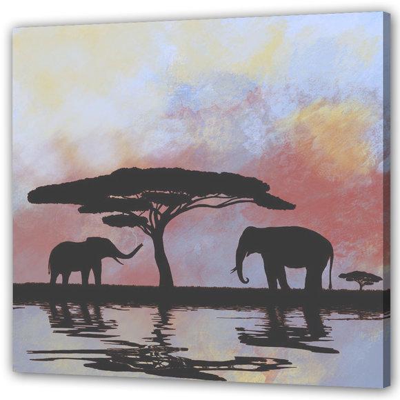 Elefanter Tavla - Oasis