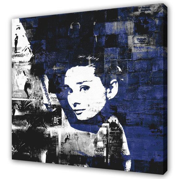 Audrey Hepburn Blue