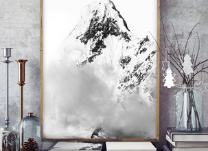 Poster  - Tavla - Mountain Hills