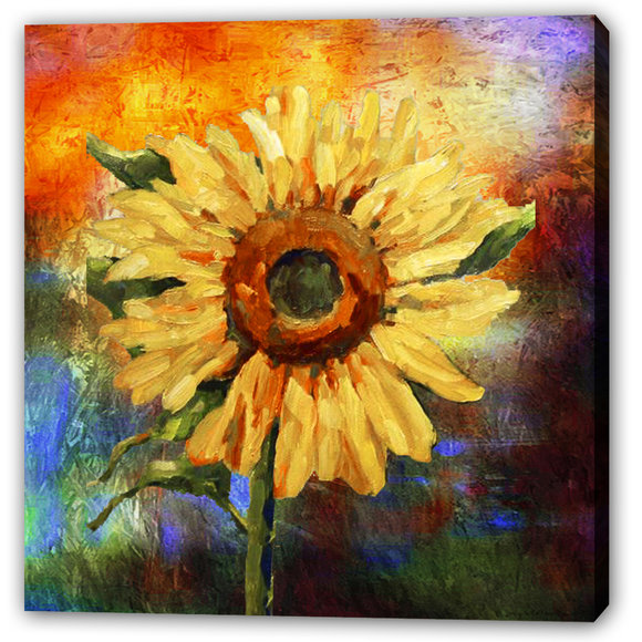 Gul Solros -Sunflower