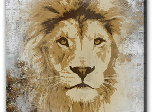 Lejon Tavla -Old King