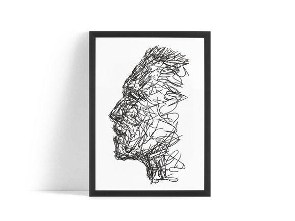 Tre Posters - Hon & Han