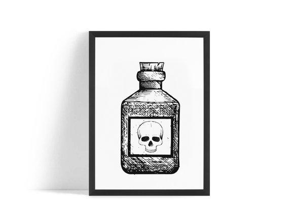 Giftig Poster