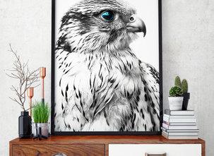 Poster  - Tavla - Silver Eagle