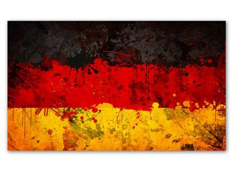 Tysklanads Flagga - Deutschland