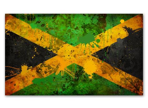 Jamaica Flagga - Jamaica