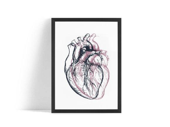 Hjärta Poster