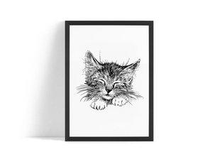 Söt katt Poster