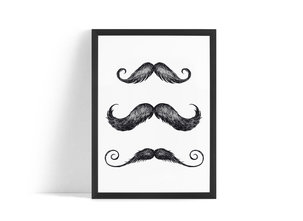 Mustasch Poster