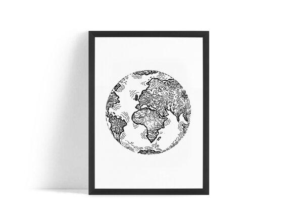 Jorden Poster