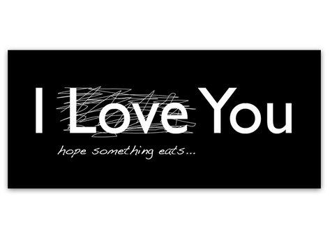 Texttavla - I Love