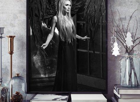 Prints - Black Angel