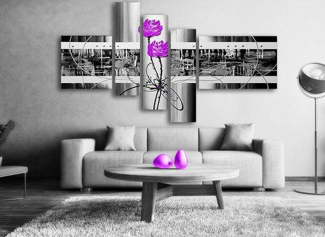 Abstrakt Purple Love