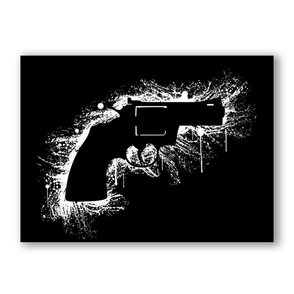 Bang Canvasprint