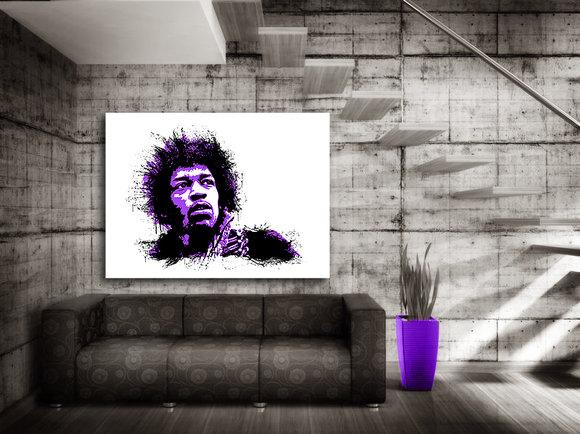 Jimi Hendrix Canvastavla