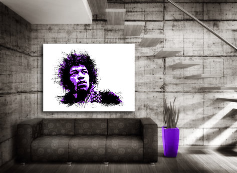 Jimi H Canvasprint