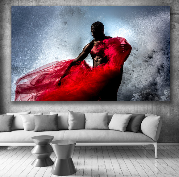 Photo Art - Red Wind