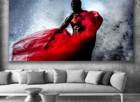 Photo Art - Red Wind