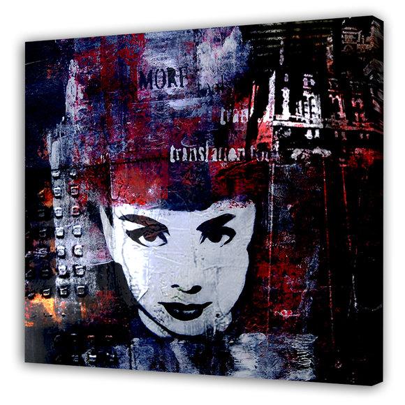 Dark Audrey Hepburn Tavla