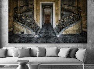 Ljuddämpande Tavla - Stairs
