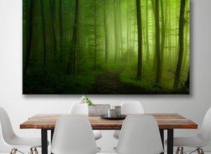 Grön Skog Tavla