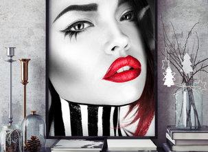 Poster  - Tavla - Lips