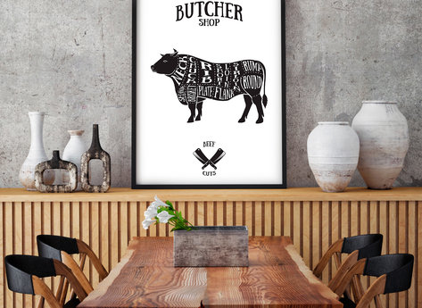 Prints - Butcher Shop